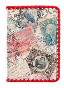 """Кожаная обложка для паспорта """"Марка"""""""