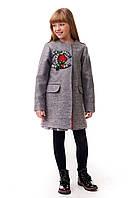 Модное весеннее пальто для девочки