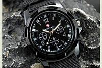 Часы Swiss Army, черные, качественная реплика