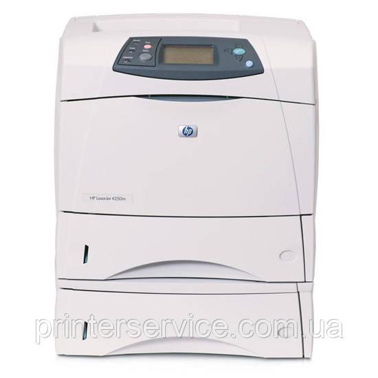 Б/у принтер HP 4350dtn формата А4 в хорошем состоянии (дуплекс и доп лоток на 500 листов)