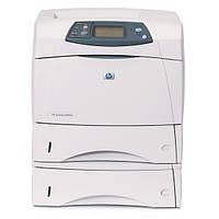 Б/у принтер HP 4350dtn формата А4 в хорошем состоянии (дуплекс и доп лоток на 500 листов), фото 1