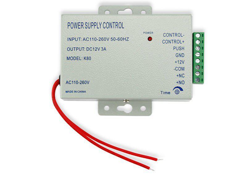 К80 контроллер питания домофона, контроллер питания электрозамка 12В, 3А