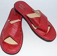 Тапочки женские кожаные 36, 37 размер