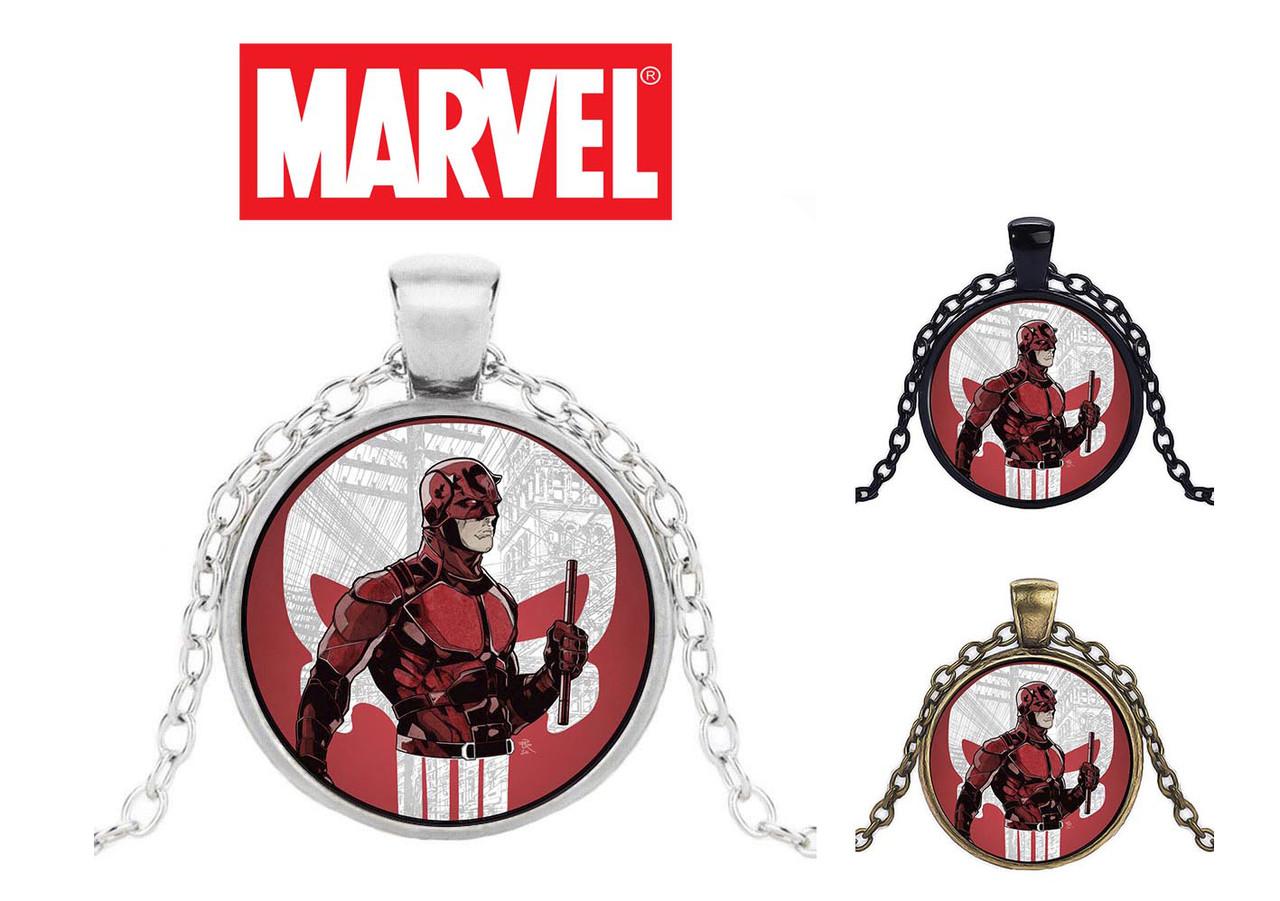 Кулон с изображением Daredevil Сорвиголова + Каратель Punisher