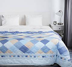 Покрывало на кровать, диван 145х210 хлопковое Твил