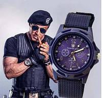 Часы Swiss Аrmy, синий, качественная реплика