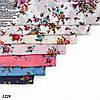 Лёгкий батистовый платок Леопардовые полосы, фото 2