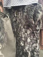 Жилетка весенняя демисезонная декорированная искусственным мехом для девочки.только опт