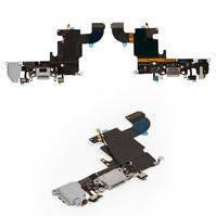 "Шлейф Apple iPhone 6S (4.7"") (+ Charge/Microphone/Head) White"