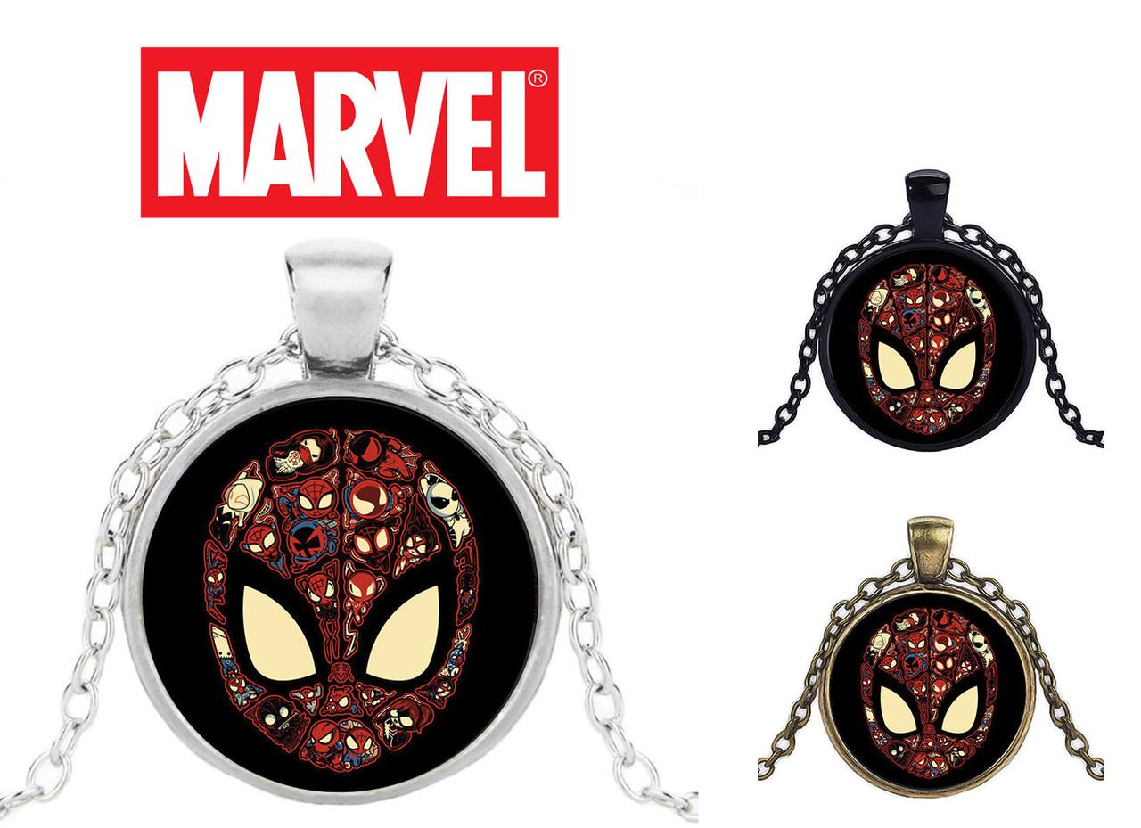 Кулон с фановским изображением Человека Паука Spiderman