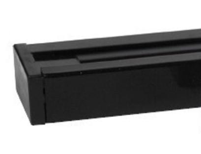 Шинопровод трековый Horoz черный 2м Код.57234