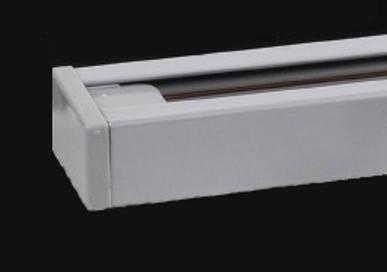 Шинопровод трековый Horoz для LED светильника серебро 3м Код.57237, фото 2