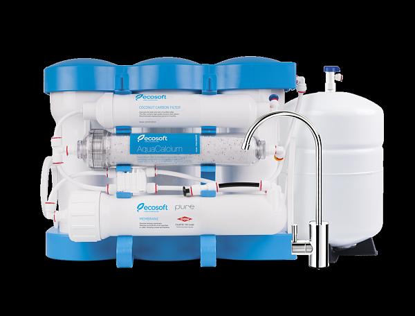 Фильтр для воды обратный осмос Ecosoft P'URE AQUACALCIUM