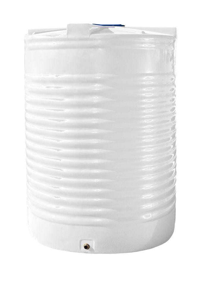Емкость, бак, бочка 15000 литров пищевая вертикальная RVО