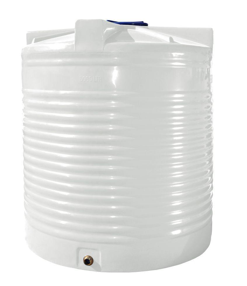 Емкость, бак, бочка 5000 литров пищевая вертикальная RVО