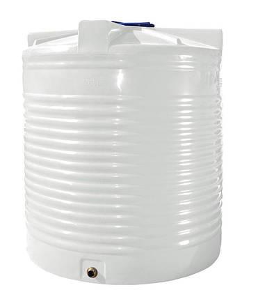 Емкость, бак, бочка 5000 литров пищевая вертикальная RVО, фото 2