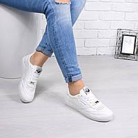 Кеды женские Nix белые 4498, кеды женские осенняя обувь