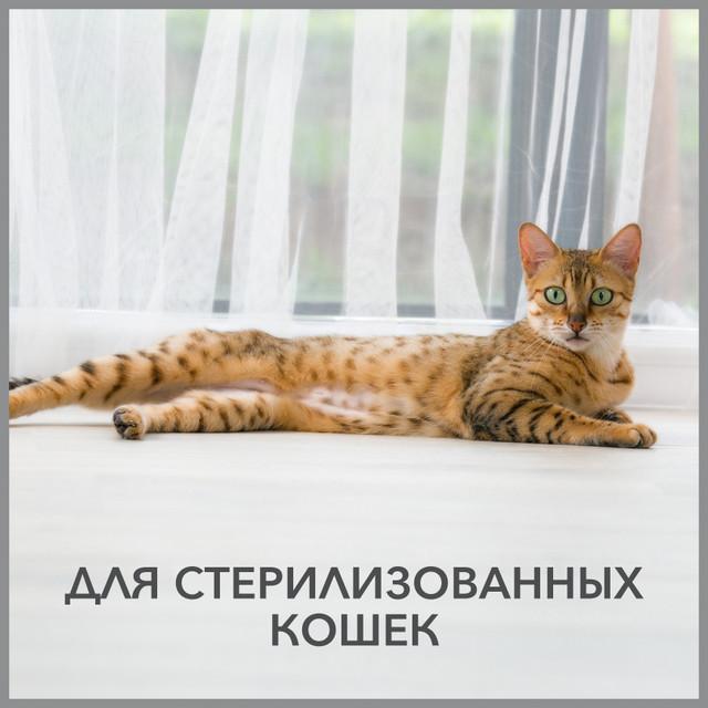 """Purina Pro Plan -супер премиум корм для стерилизованных кошек по минимальной цене в зоомагазине """"Шиншилка"""""""