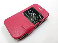 Чехол книжка с окошком momax для Samsung Galaxy Star 2 G130E / Young 2 G130H розовый
