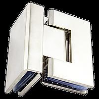 Петля для душевой кабины стекло - стекло  90 градусов