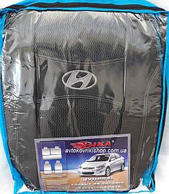 Авточехлы Hyundai Accent RB 2010- Nika