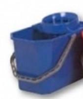 Ведро 15 л. со встроенной сеточкой синее