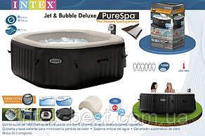 Надувной бассейн джакузи PureSpa Jet and Bubble Deluxe (218 х 71 см) Intex 28456, фото 2
