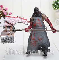 Коллекционная фигурка Палач 18 см. В коробке Resident Evil Фирма NECA