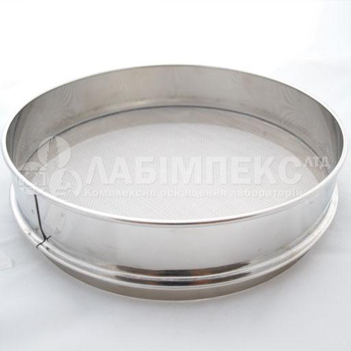 Сито лабораторное металлотканое СЛ-200 (Ø 200 мм, H=38 мм)