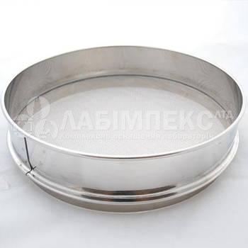 Сита лабораторные металлотканые СЛ-200 (Ø 200 мм, ячейка в ассортименте), Украина