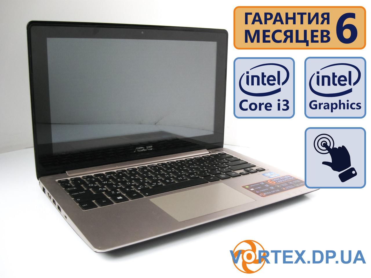 Сенсорный ультрабук Asus S200e 11.6 (1366x768) / Intel Core i3-3217U (