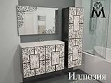 Тумбы, пеналы, зеркальные шкафы, зеркала  для ванной, фото 7