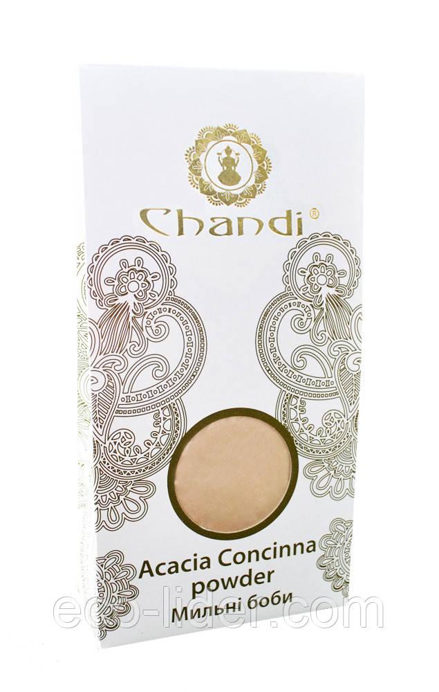 Порошок мыльных бобов (Acacia Concinna powder) Chandi, 100 г