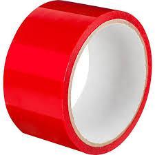 Скотч Красный 43,5 мм ширина, 200 метров