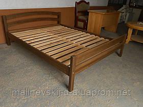 Двухспальная деревянная кровать Мария 150*190 орех