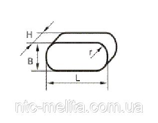 Вкладыш фрикционный К274А-21М-801-1