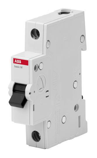 Выключатель автоматический ABB 1Р 25А С 4.5кА BMS411C25