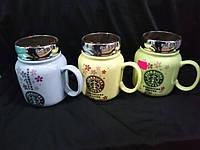 """Чашка с крышкой """"Starbucks coffee"""""""