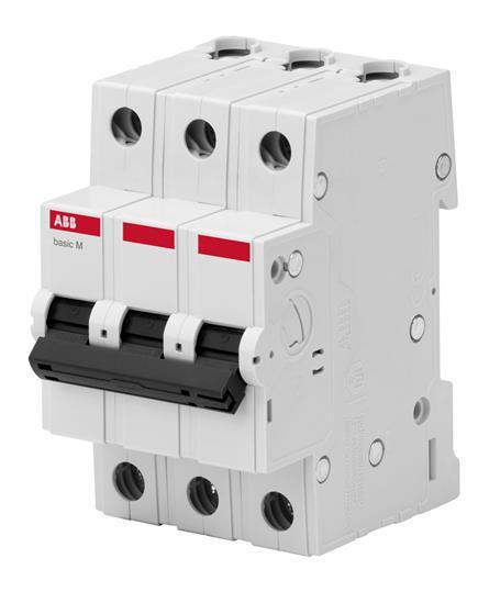 Выключатель автоматический ABB 3Р 10А С 4.5кА BMS413C10