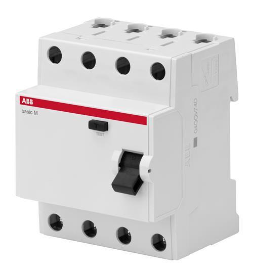 Выключатель дифференциального тока (УЗО) ABB 4Р 25А 30мА АС BMF41425
