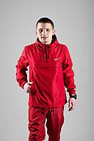 Анорак Nike, мужской красный весенний