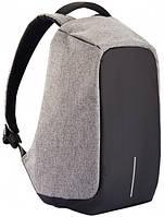 Рюкзак для ноутбука Bobby XD Design Anti-Theft 15.6 Grey