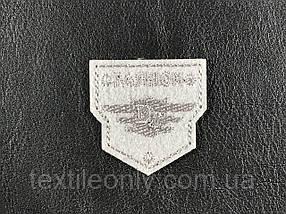 Нашивка Fashion  DS цвет серый 40x40 мм