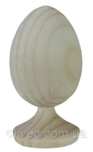 Яйце на підставці дерев'яне