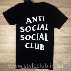 Футболка Anti Social social club бирки A.S.S.C.