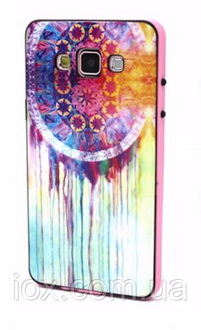 """Силиконовый двойной чехол с бампером """"Колесо счастья"""" для Samsung Galaxy A5"""