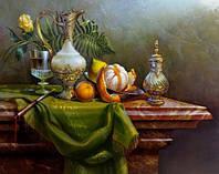 """Картина """"Натюрморт с розой"""". Ручная работа картин в Украине"""