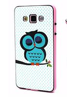 """Силиконовый двойной чехол с бампером """"Сова"""" для Samsung Galaxy A5, фото 1"""