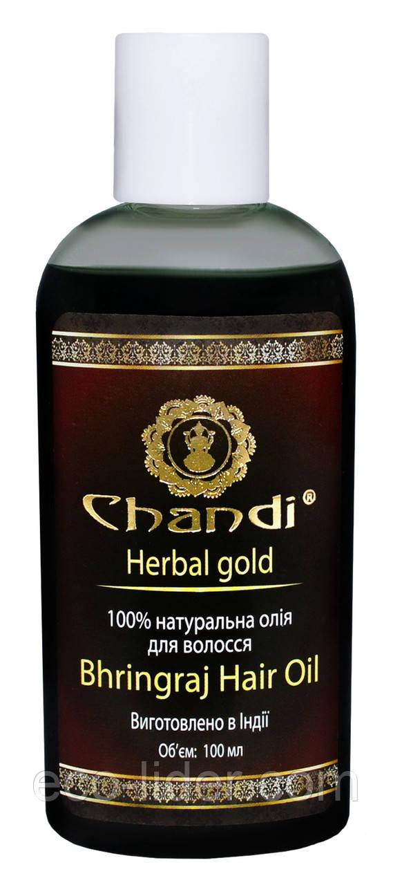 """Натуральное масло для волос """"Брингарадж"""" Chandi, 100 мл"""