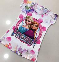 Детское Платье  для девочек Эльза Размер 5-6 лет